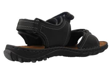 JOSEF SEIBEL - Herren Sandalen - Canim - Schwarz Schuhe in Übergrößen – Bild 3
