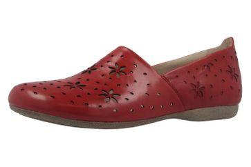 JOSEF SEIBEL - Damen Slipper - Fiona 31 - Rot Schuhe in Übergrößen