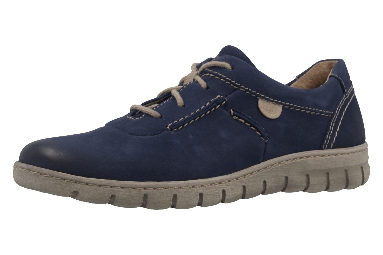 JOSEF SEIBEL - Damen Halbschuhe - Steffi SoN 07 - Blau Schuhe in Übergrößen – Bild 1