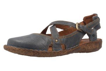 Josef Seibel Rosalie 13 Sandalen in Übergrößen Blau 79513 95 540 große Damenschuhe – Bild 1