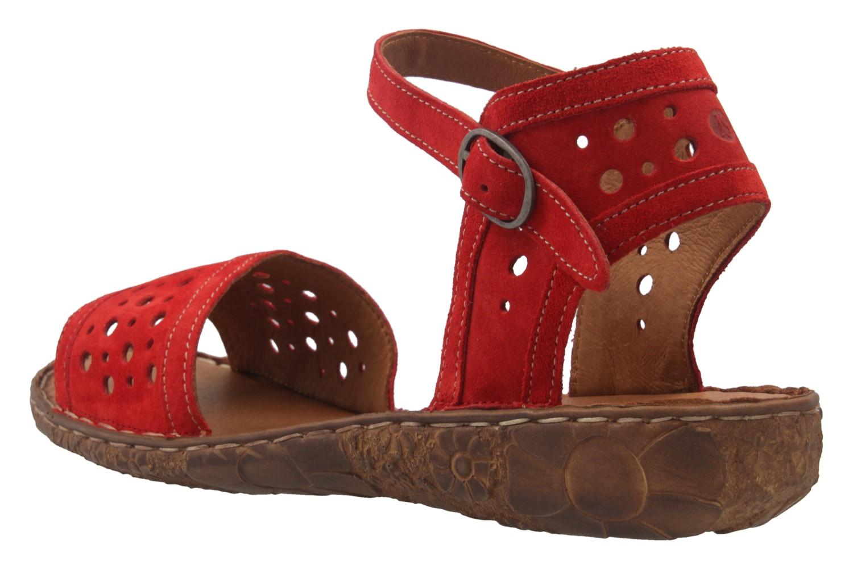 Josef Seibel Sandalen in Übergrößen Rot 79511 944 400 große Damenschuhe – Bild 2