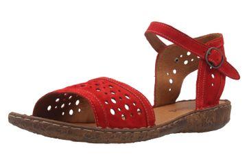 JOSEF SEIBEL - Damen Sandalen - Rosalie 11 - Rot Schuhe in Übergrößen