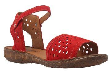 Josef Seibel Sandalen in Übergrößen Rot 79511 944 400 große Damenschuhe – Bild 5