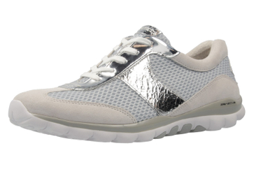 GABOR rollingsoft - Damen Halbschuhe - Grau/Blau Schuhe in Übergrößen – Bild 1