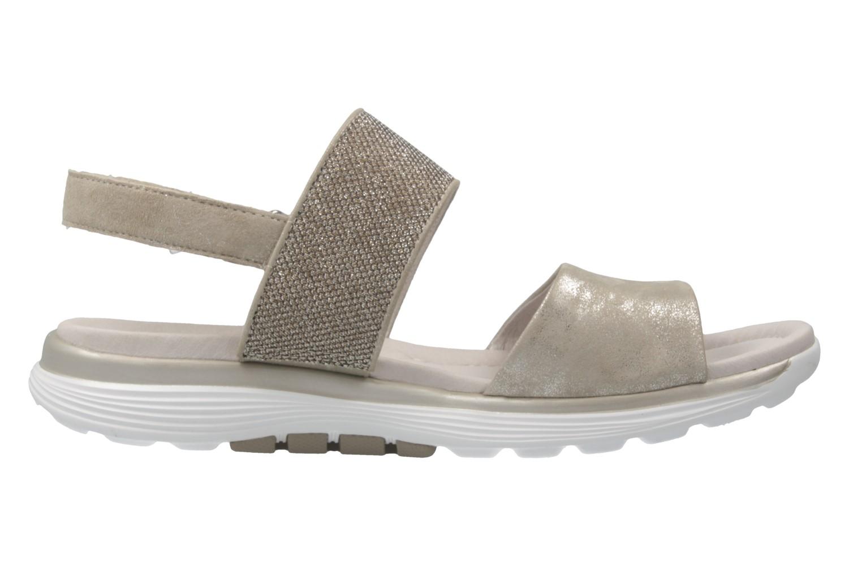 Gabor Sandalen in Übergrößen Silber 66.914.93 große Damenschuhe – Bild 4