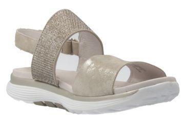 Gabor Sandalen in Übergrößen Silber 66.914.93 große Damenschuhe – Bild 5