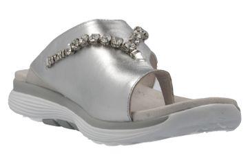 GABOR rollingsoft - Damen Zehentrenner - Silber Schuhe in Übergrößen – Bild 5