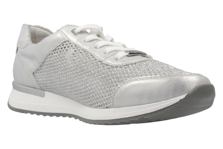 Remonte Sneaker in Übergrößen Silber R7006-90 große Damenschuhe – Bild 5