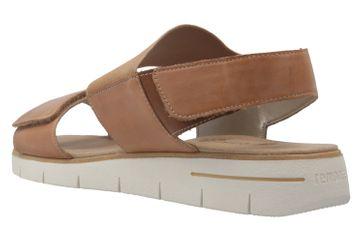 Remonte Sandalen in Übergrößen Braun D3955-20 große Damenschuhe – Bild 2