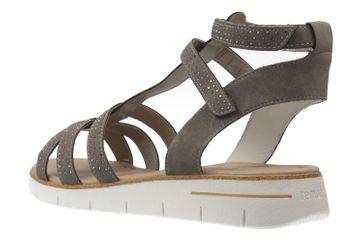 Remonte Sandalen in Übergrößen Grau D3954-42 große Damenschuhe – Bild 2