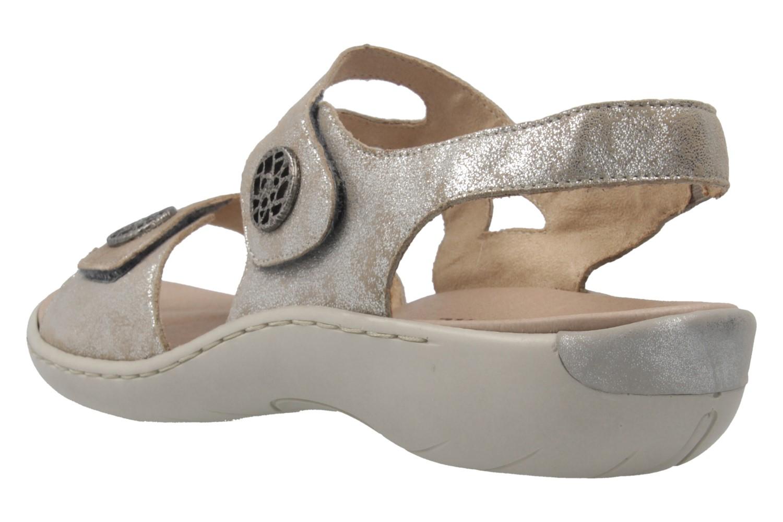 Remonte Sandalen in Übergrößen Grau R8570-42 große Damenschuhe – Bild 2