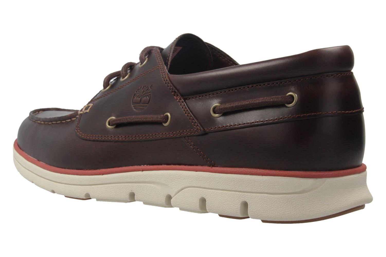 TIMBERLAND - Herren Halbschuhe - Bradstreet 3 Eye - Braun Schuhe in Übergrößen – Bild 2