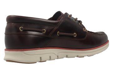TIMBERLAND - Herren Halbschuhe - Bradstreet 3 Eye - Braun Schuhe in Übergrößen – Bild 3