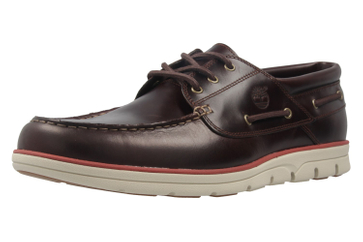 TIMBERLAND - Herren Halbschuhe - Bradstreet 3 Eye - Braun Schuhe in Übergrößen