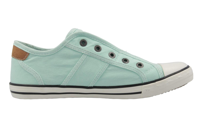 MUSTANG - Damen Sneaker - Grün Schuhe in Übergrößen – Bild 4
