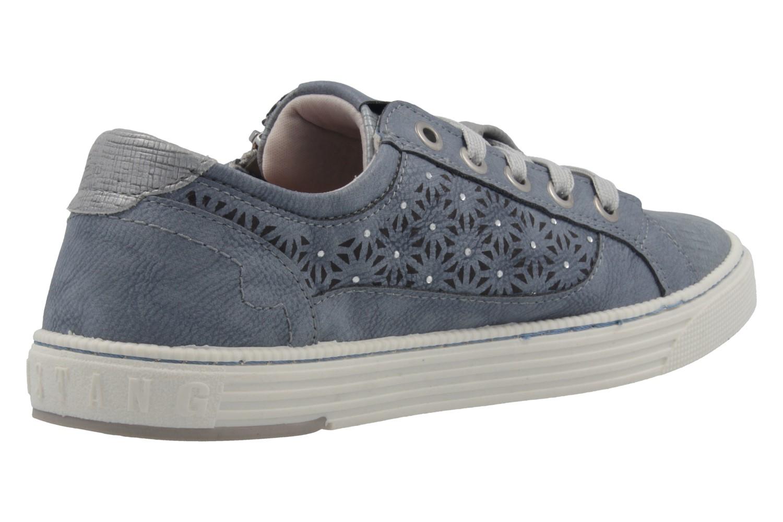 MUSTANG - Damen Sneaker - Blau Schuhe in Übergrößen – Bild 3