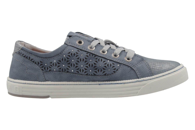 MUSTANG - Damen Sneaker - Blau Schuhe in Übergrößen – Bild 4