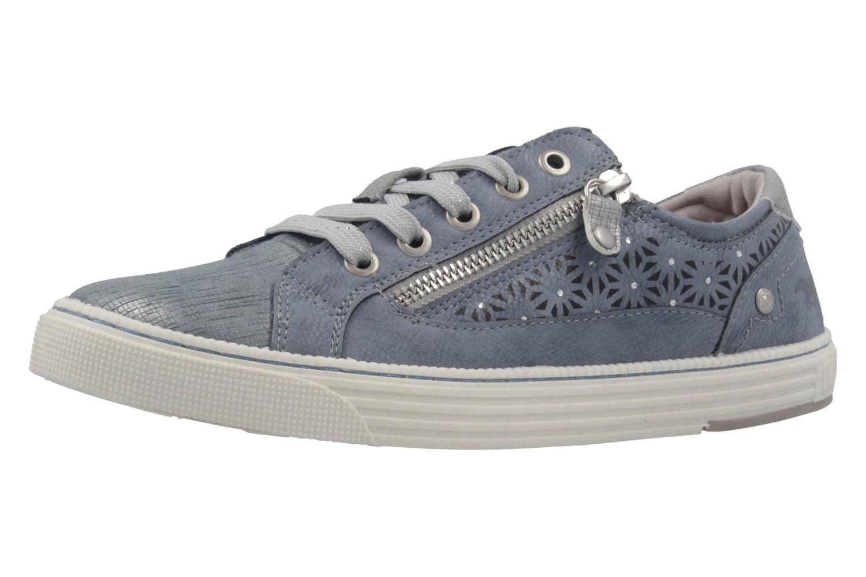MUSTANG - Damen Sneaker - Blau Schuhe in Übergrößen – Bild 1