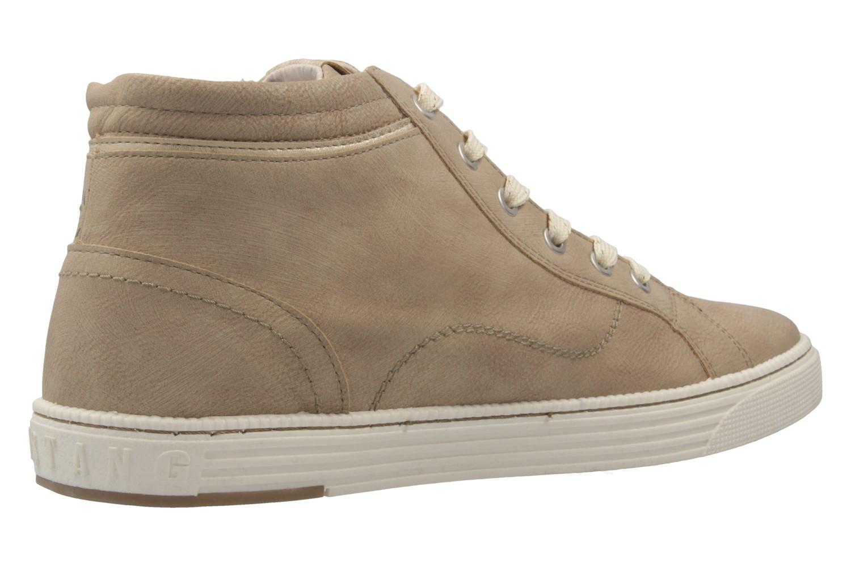 MUSTANG - Damen High Top Sneaker - Taupe Schuhe in Übergrößen – Bild 3