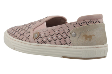 MUSTANG - Damen Slipper - Rosa Schuhe in Übergrößen – Bild 2