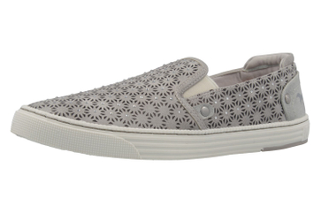 MUSTANG - Damen Slipper - Grau Schuhe in Übergrößen