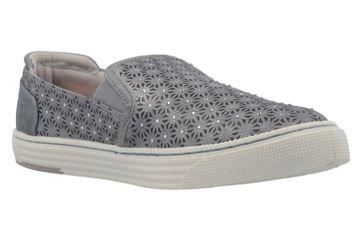 MUSTANG - Damen Slipper - Grau Schuhe in Übergrößen – Bild 5