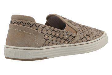 MUSTANG - Damen Slipper - Taupe Schuhe in Übergrößen – Bild 3