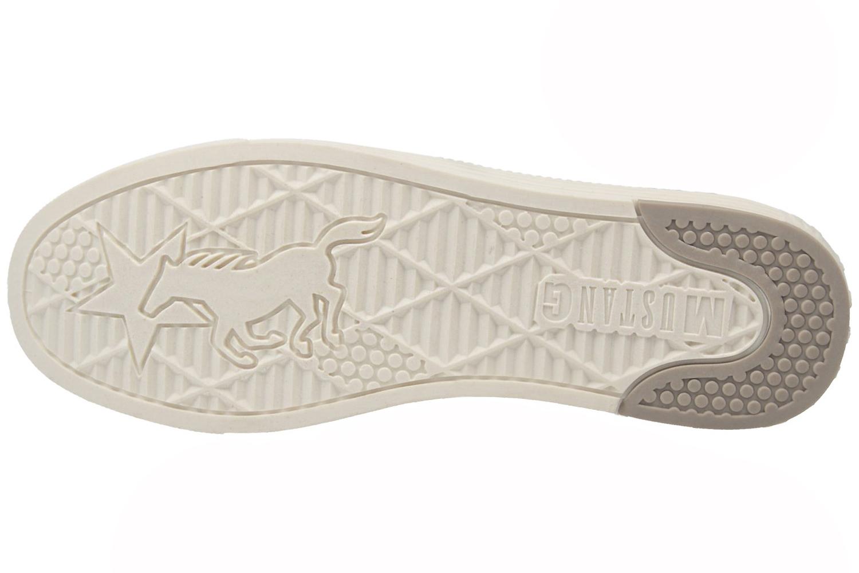 Mustang Shoes Slipper in Übergrößen Silber 1246-404-21 große Damenschuhe – Bild 6