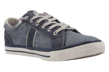 MUSTANG - Herren Halbschuhe - Blau Schuhe in Übergrößen – Bild 5