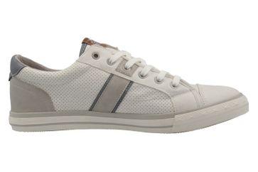 MUSTANG - Herren Halbschuhe - Weiß Schuhe in Übergrößen – Bild 4