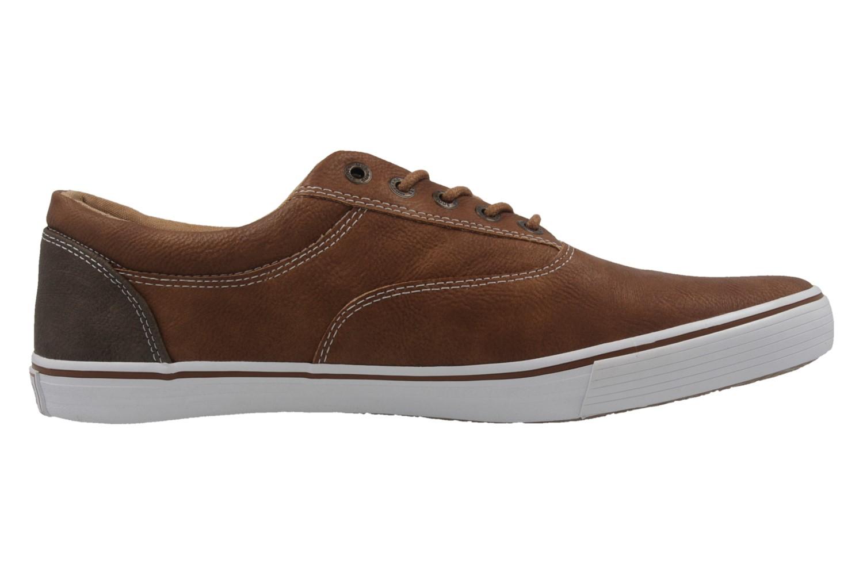 Mustang Shoes Sneaker in Übergrößen Braun 4101-303-301 große Herrenschuhe – Bild 4