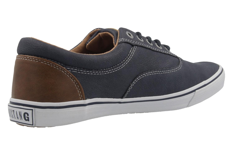 Mustang Shoes Sneaker in Übergrößen blau 4101-303-800 große Herrenschuhe – Bild 3