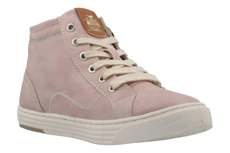 mustang damen high top sneaker rosa schuhe in bergr en damenschuhe in bergr en sneaker. Black Bedroom Furniture Sets. Home Design Ideas