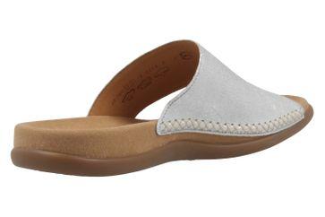 GABOR - Damen Zehentrenner - Silber Schuhe in Übergrößen – Bild 3