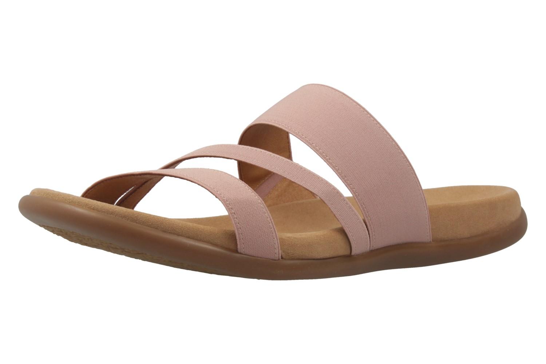 GABOR - Damen Pantoletten - Rosa Schuhe in Übergrößen – Bild 1