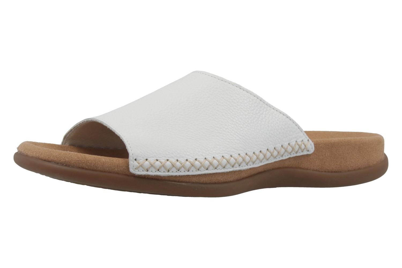 GABOR - Damen Pantoletten - Weiß Schuhe in Übergrößen – Bild 1