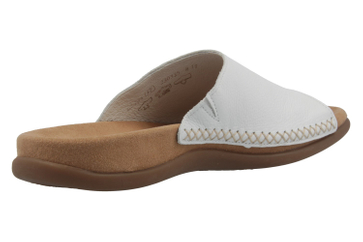 GABOR - Damen Pantoletten - Weiß Schuhe in Übergrößen – Bild 3