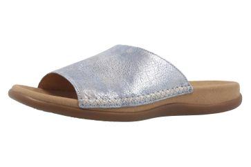GABOR - Damen Pantoletten - Blau Schuhe in Übergrößen