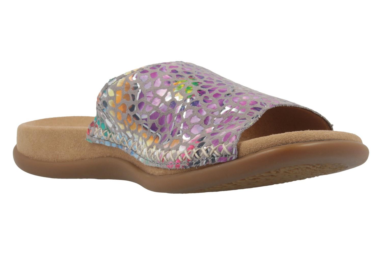 GABOR - Damen Pantoletten - Mehrfarbig Schuhe in Übergrößen – Bild 5