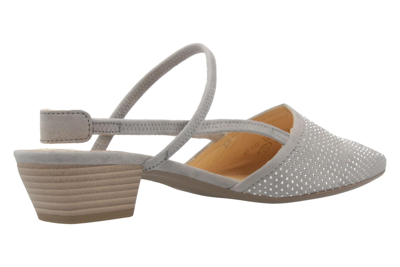 GABOR - Damen Slingback Pumps - Grau Schuhe in Übergrößen – Bild 3