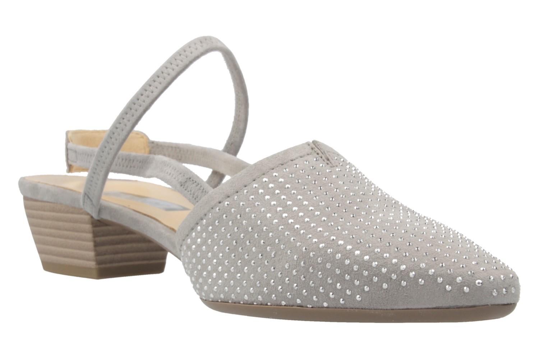 GABOR - Damen Slingback Pumps - Grau Schuhe in Übergrößen – Bild 5