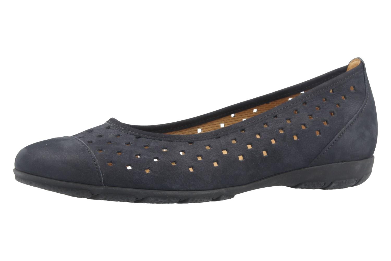 GABOR - Damen Ballerinas - Blau Schuhe in Übergrößen – Bild 1
