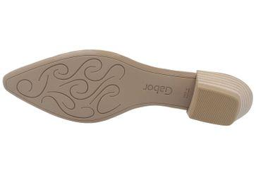 GABOR - Damen Pumps - Grau Schuhe in Übergrößen – Bild 6