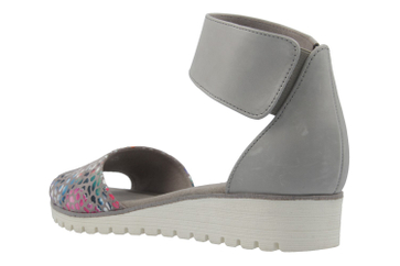 Gabor Sandalen in Übergrößen Grau 64.570.41 große Damenschuhe – Bild 2