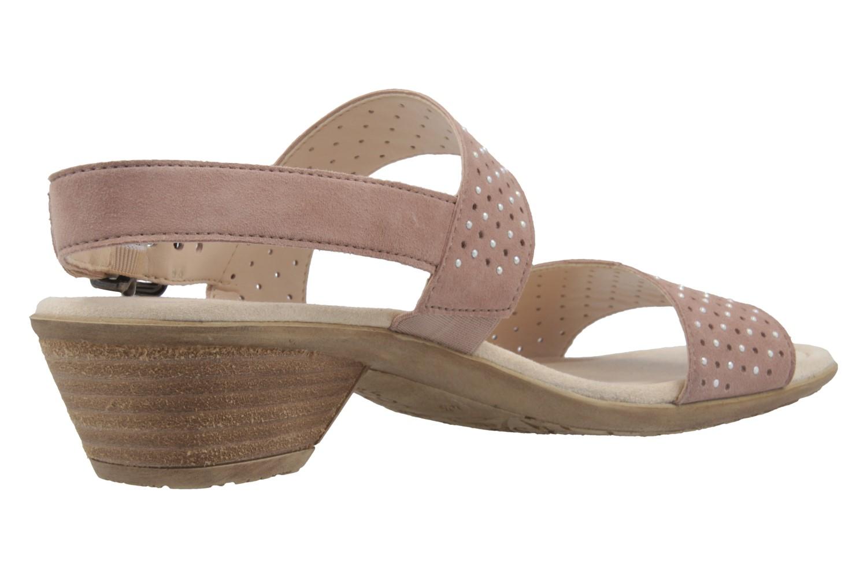 Gabor Sandaletten in Übergrößen Silber 64.542.14 große Damenschuhe – Bild 3