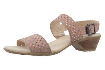 Gabor Sandaletten in Übergrößen Silber 64.542.14 große Damenschuhe