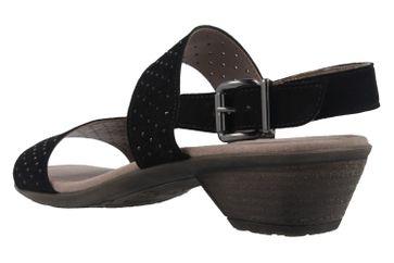 Gabor Sandaletten in Übergrößen Schwarz 64.542.17 große Damenschuhe – Bild 2