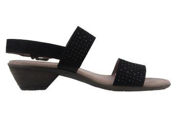 Gabor Sandaletten in Übergrößen Schwarz 64.542.17 große Damenschuhe – Bild 4