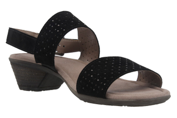 Gabor Sandaletten in Übergrößen Schwarz 64.542.17 große Damenschuhe – Bild 5