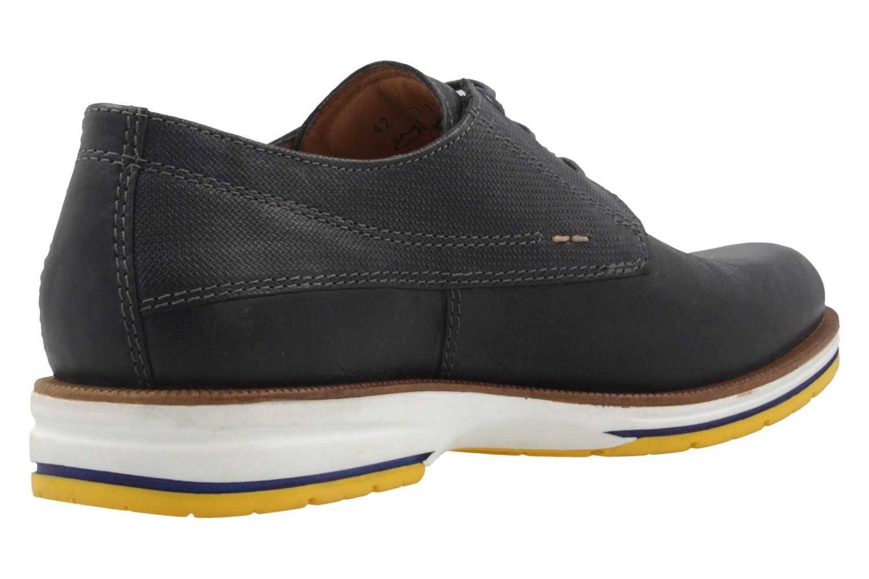 FRETZ MEN - Herren Halbschuhe - Steven - Blau Schuhe in Übergrößen – Bild 3